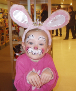 A cute Easter Bunny
