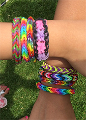 Go LOOMING mad with our loom band jewellery workshop