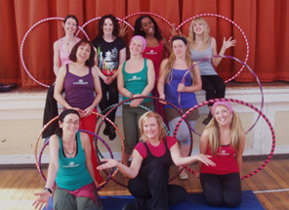 Regardless of fitness level, dance ability, age or gender with guidance from 'Hoop Sister' everybody can learn to hula hoop