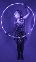 'Hoop Sister' is available for workshops for all age groups nationwide
