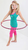 Regardless of dance ability, everybody can learn to hula hoop