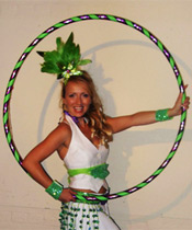 Hoop Sister' is available for workshops for all age groups nationwide
